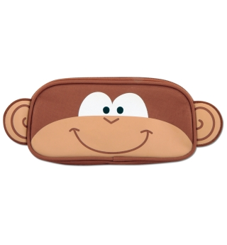 Stephen Joseph Pencil Pouch - Monkey