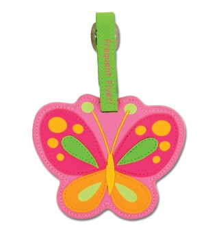 Stephen Joseph Bag/Luggage Tag - Butterfly
