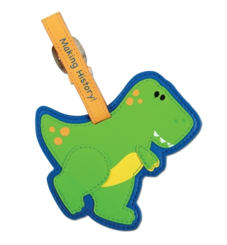 Stephen Joseph Bag/Luggage Tag - Dino