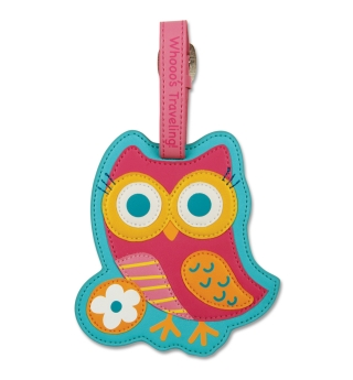 Stephen Joseph Bag/Luggage Tag - Owl