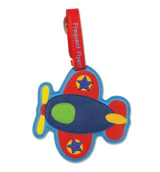 Stephen Joseph Bag/Luggage Tag - Airplane