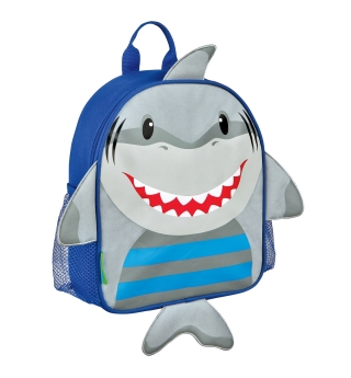 Stephen Joseph Mini Sidekick Backpack - Shark