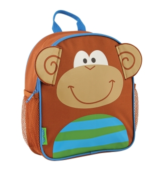 Stephen Joseph Mini Sidekick Backpack - Monkey