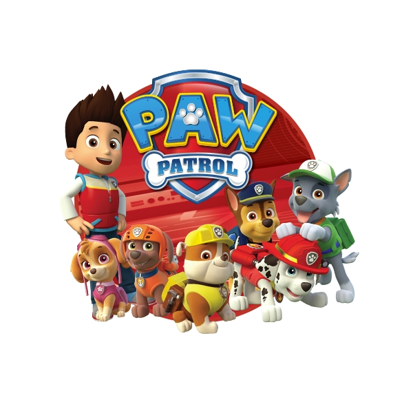 """PAW Patrol """"Ryder, Chase & Marshall""""Hooded Towel"""