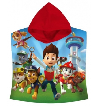 "PAW Patrol ""Ryder, Chase & Marshall""Hooded Towel"