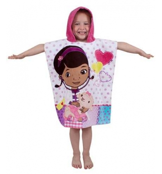 Disney Doc McStuffins Patch Hooded Towel