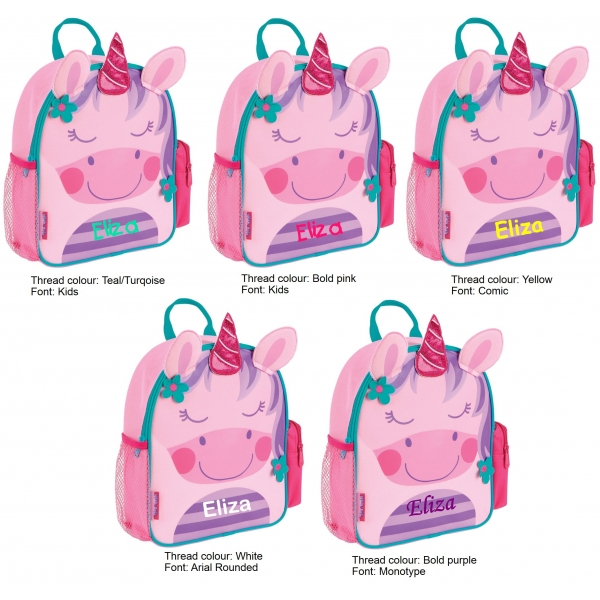 e67b417945 Stephen Joseph Mini Sidekick Backpack - Unicorn - Juz Kidz Online