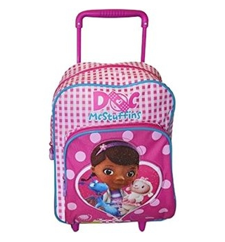 Deluxe Disney Doc McStuffins 2-in-1 Trolley cum Backpack