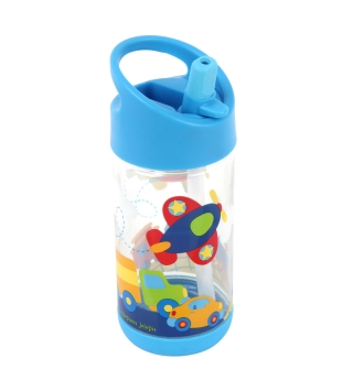 Stephen Joseph Flip Top water bottle - Transportation