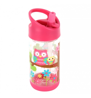 Stephen Joseph Flip Top water bottle - Owl