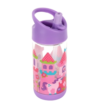 Stephen Joseph Flip Top water bottle - Princess