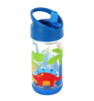 Stephen Joseph Flip Top water bottle - Dino