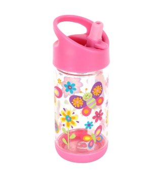 Stephen Joseph Flip Top water bottle - Butterfly