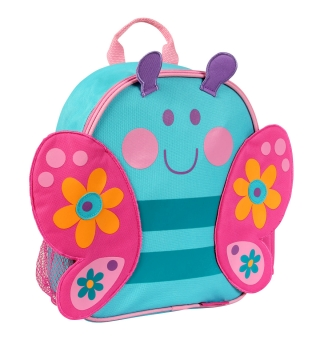 Stephen Joseph Mini Sidekick Backpack - Butterfly (Cyan)