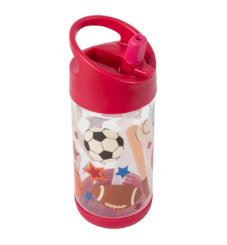 Stephen Joseph Flip Top water bottle - Sports