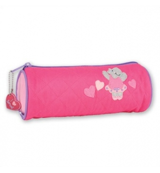 Stephen Joseph Quilted Pencil Case - Hippo