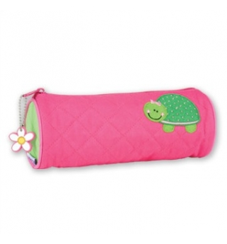 Stephen Joseph Quilted Pencil Case - Turtle