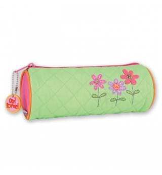 Stephen Joseph Quilted Pencil Case - Flower