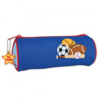 Stephen Joseph Quilted Pencil Case - Sports