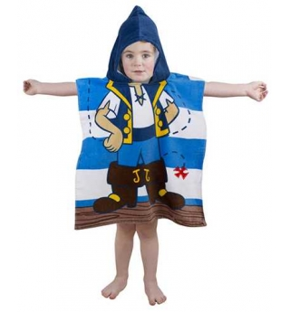 Jake & The Neverland Pirate Hooded Towel