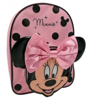 Minnie Mouse Backpack with Bow (Pink)