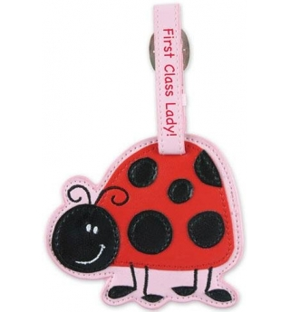 Stephen Joseph Bag/Luggage Tag - Ladybug