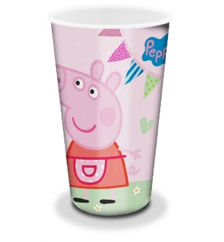 Peppa Pig Tea Party large lenticular tumbler