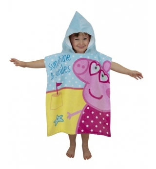 Peppa Pig Seaside Hooded Towel