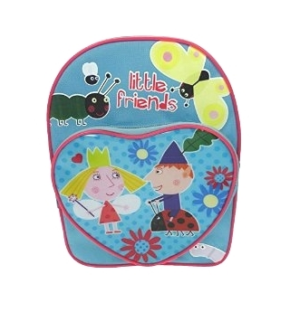 Ben and Holly Heart Front Backpack
